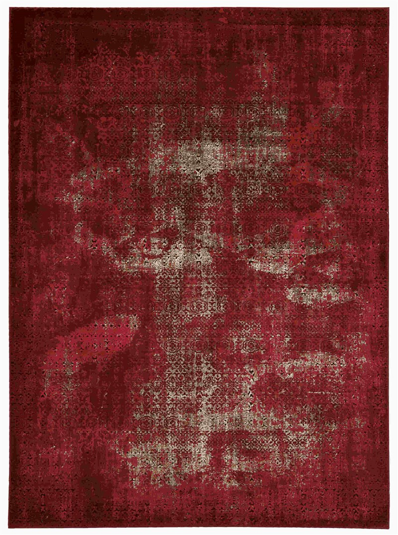 Nourison Karma Red Area Rug