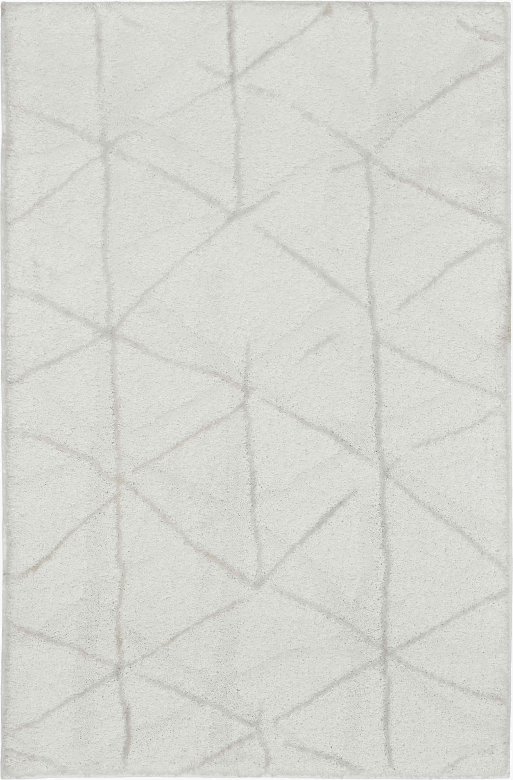 Kathy Ireland Ki33 Ingenue Contemporary Ivory Rug Kih33