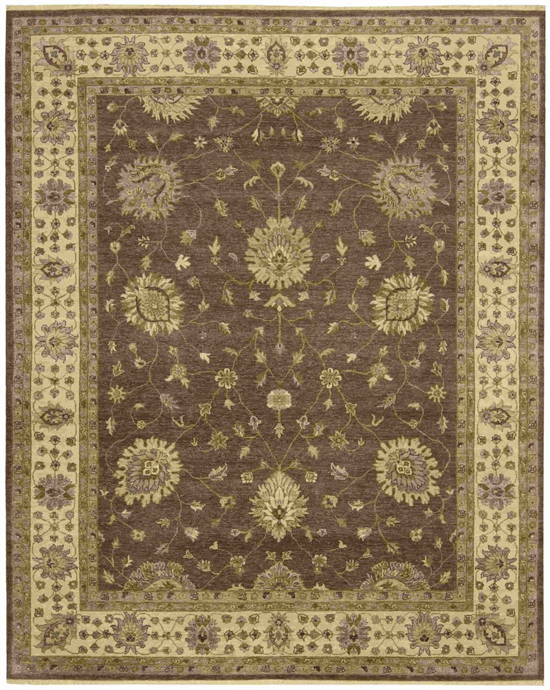 Nourison Legend Chocolate Area Rug