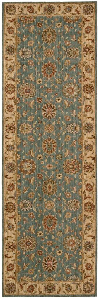 Nourison Living Treasures Aqua Area Rug