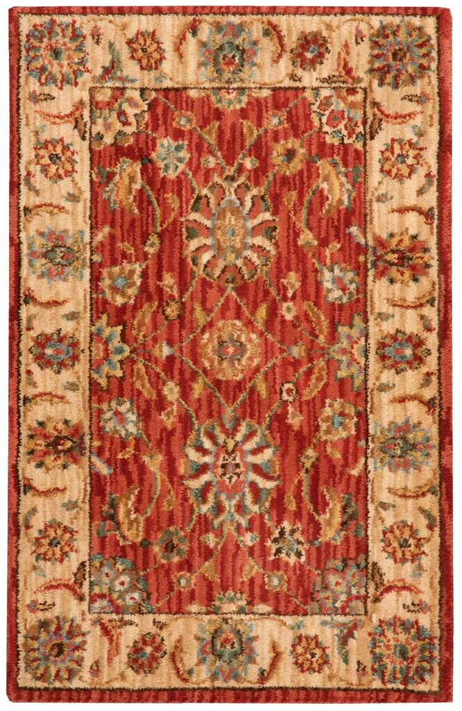 Nourison Living Treasures Rust Area Rug
