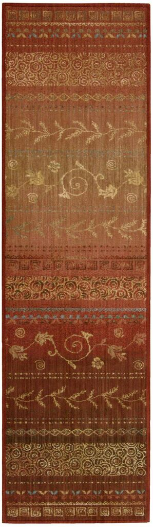 Nourison Radiant Impression Crimson Area Rug