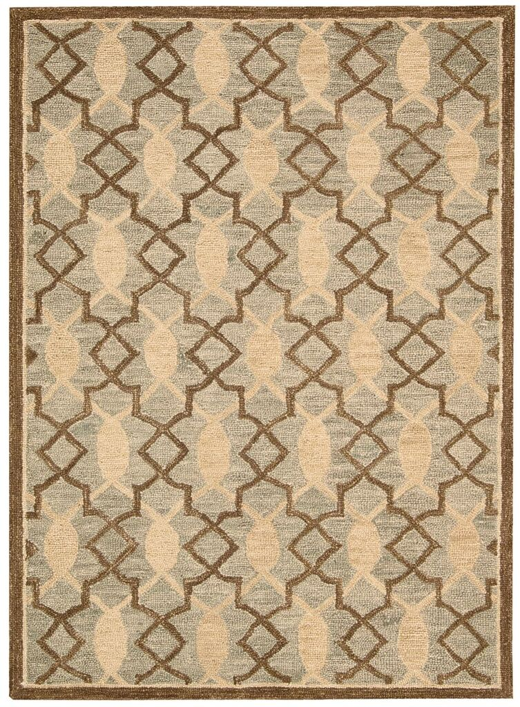 Nourison Marina Light Green Area Rug