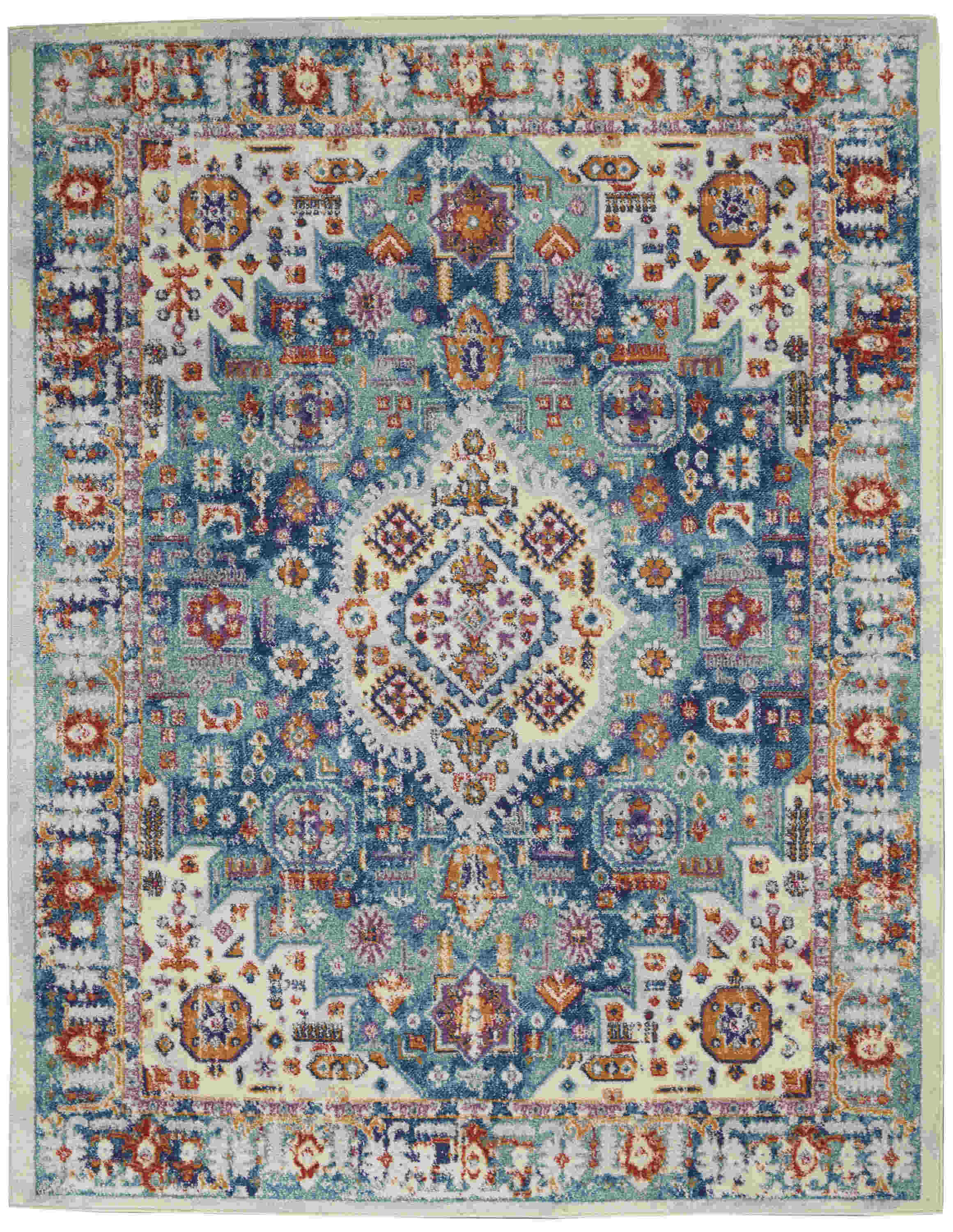 Nourison Passion Transitional Ivory Rug Psn29