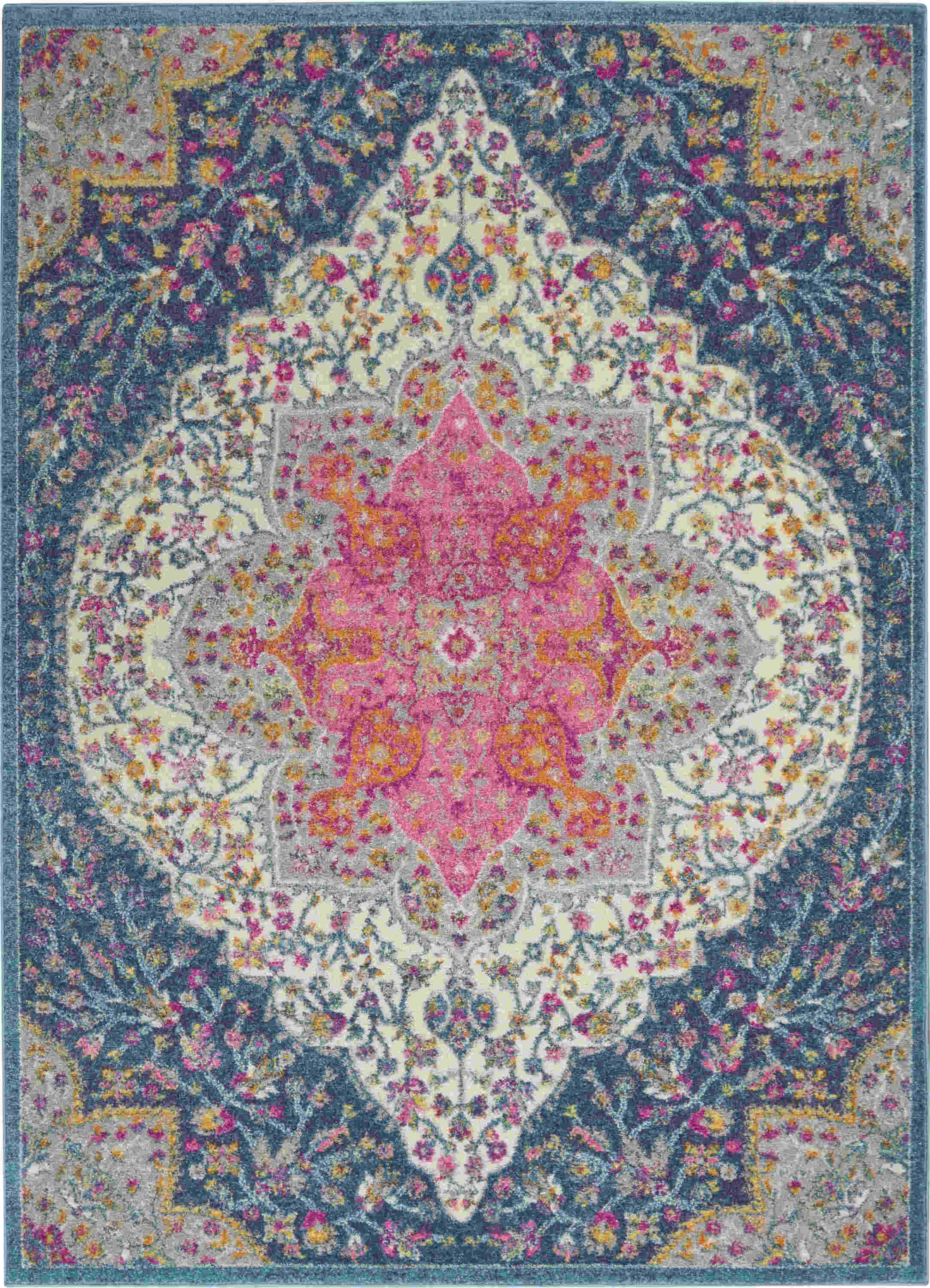 Nourison Passion Transitional Multicolor Rug Psn39