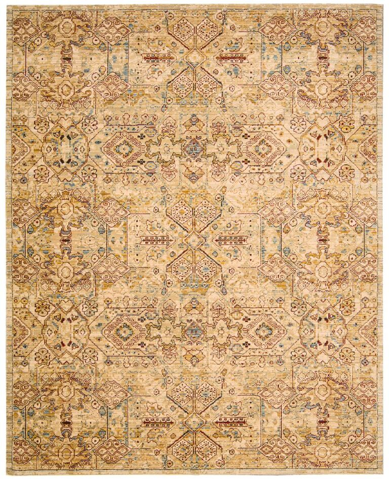 Nourison Rhapsody Light Gold Area Rug