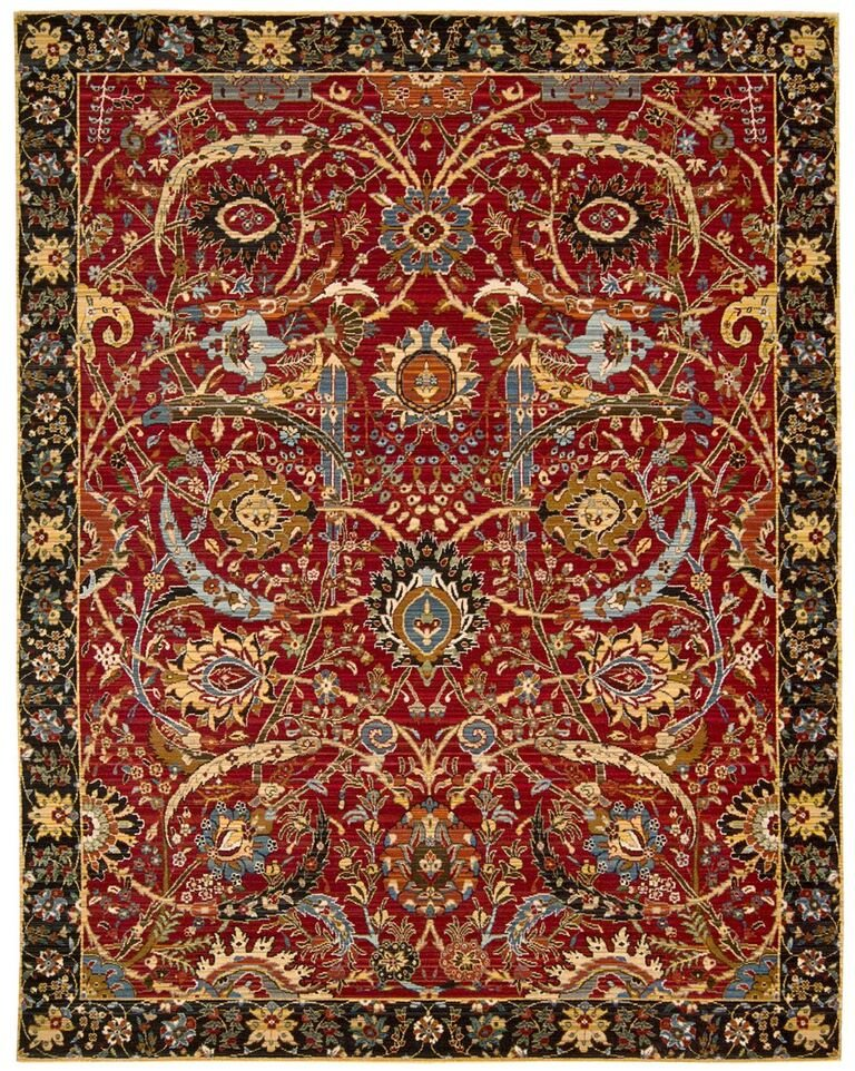Nourison Rhapsody Red Area Rug