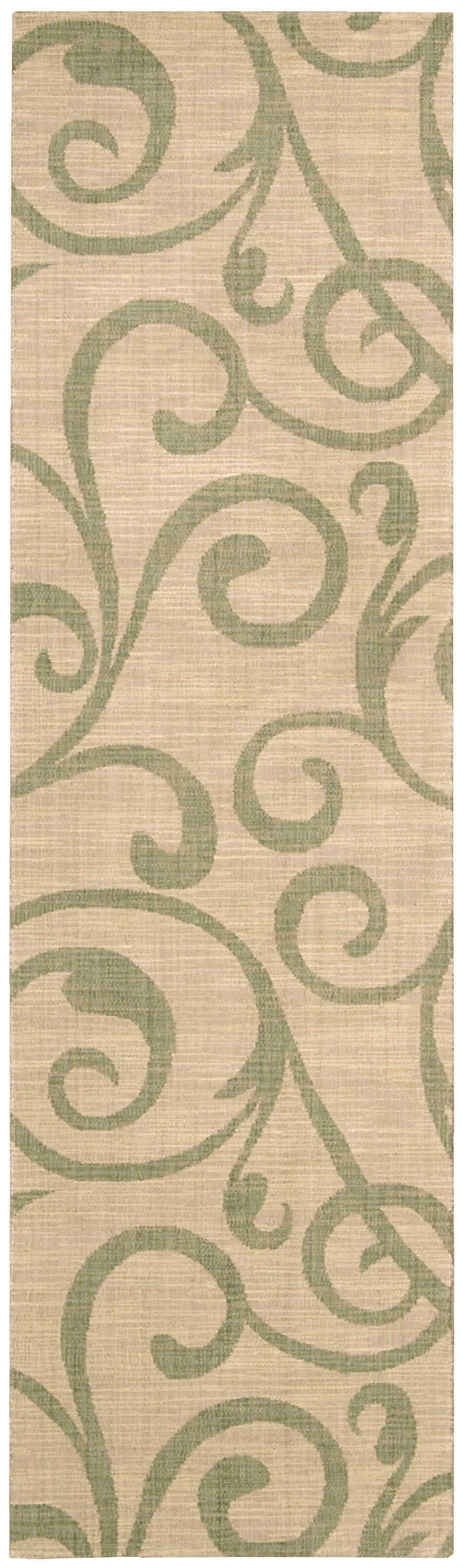 NOURISON RIVIERA LIGHT GOLD AREA RUG
