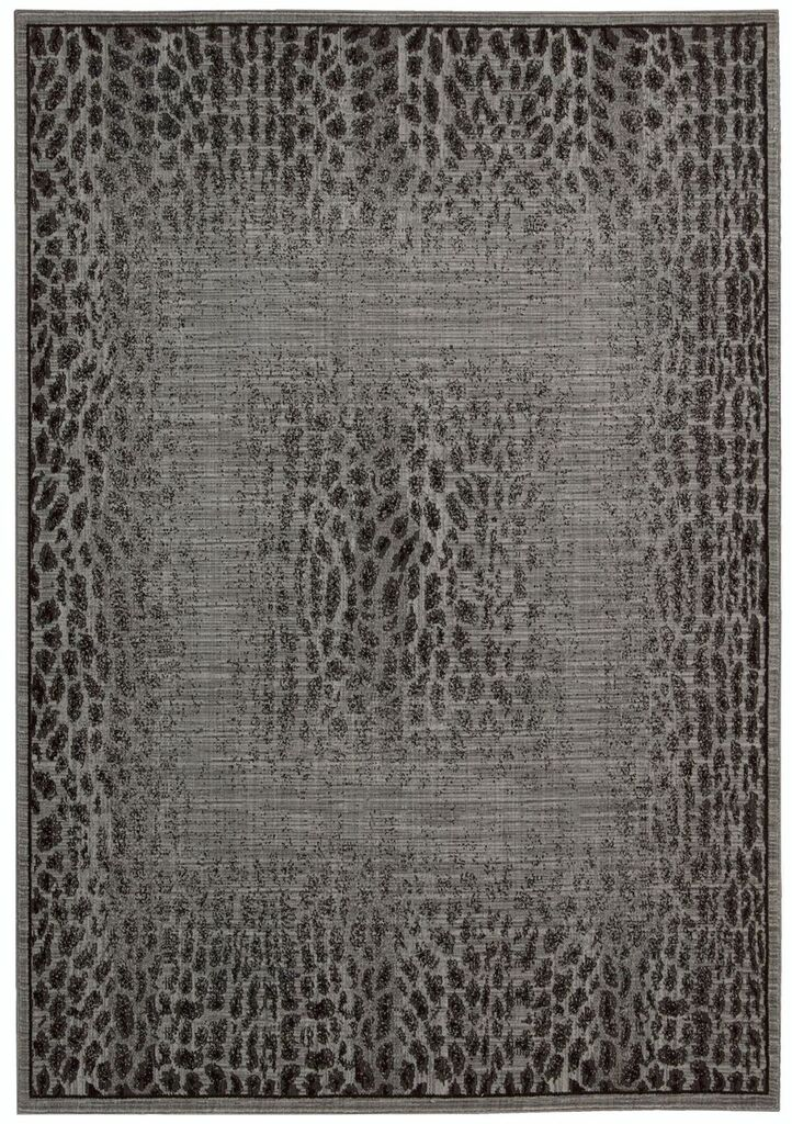 Nourison Riviera Grey Black Area Rug
