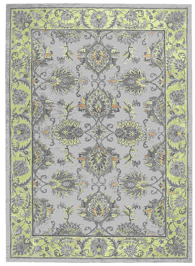 Joseph Abboud Sepia Grey/ivory Area Rug By Nourison