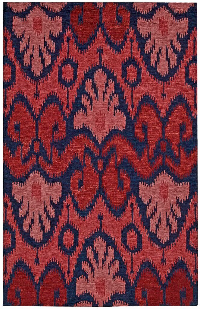 Nourison Siam Navy Red Area Rug