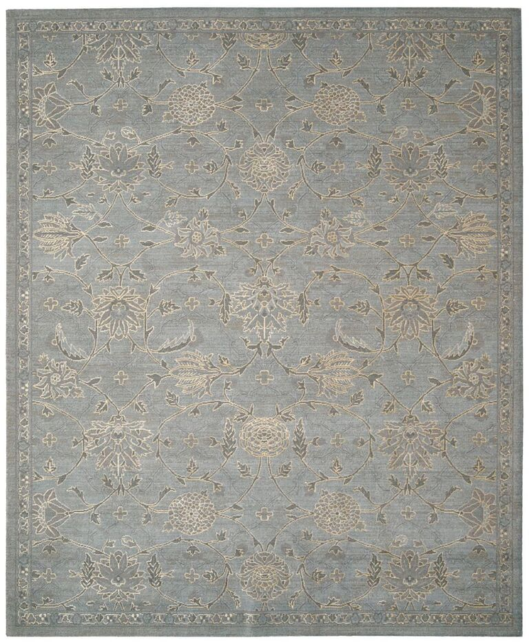 Nourison Silk Infusion Blue Area Rug