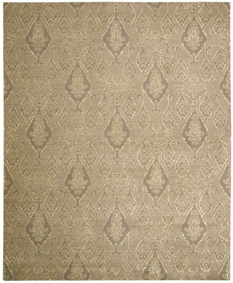 Nourison Silk Infusion Grey Area Rug