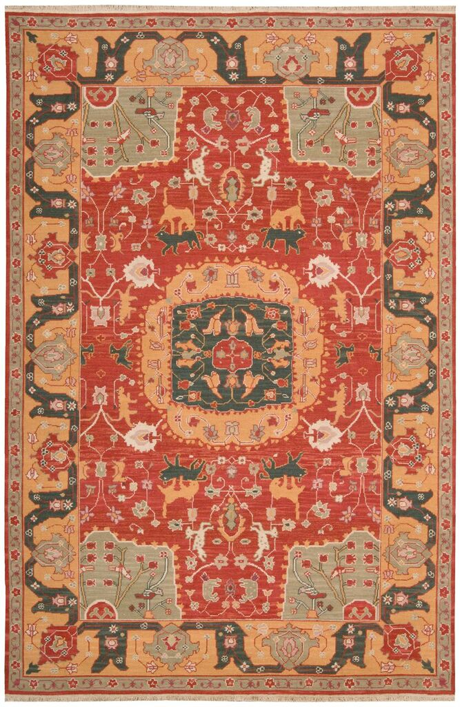 Nourison Nourmak Red Area Rug