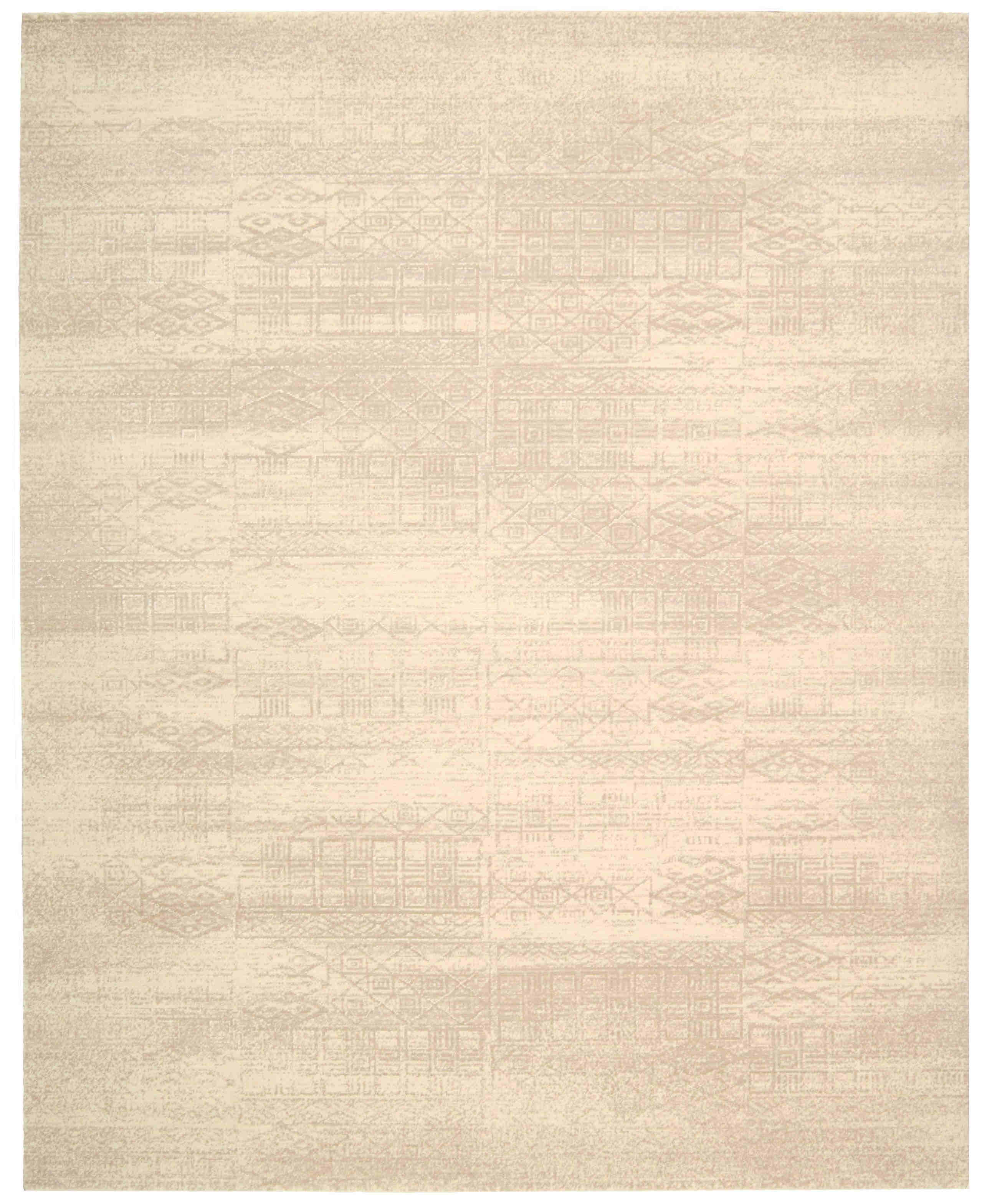 Nourison Silk Elements Bone Area Rug