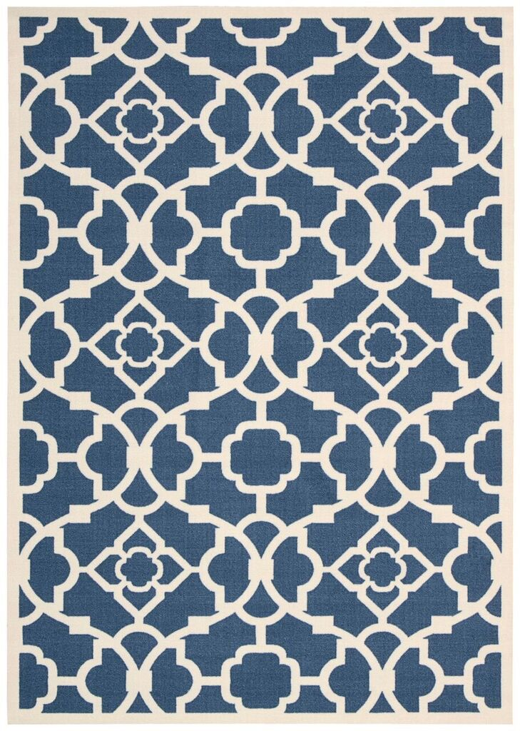 Waverly Sun & Shade Lovely Lattice Lapis Area Rug By Nourison