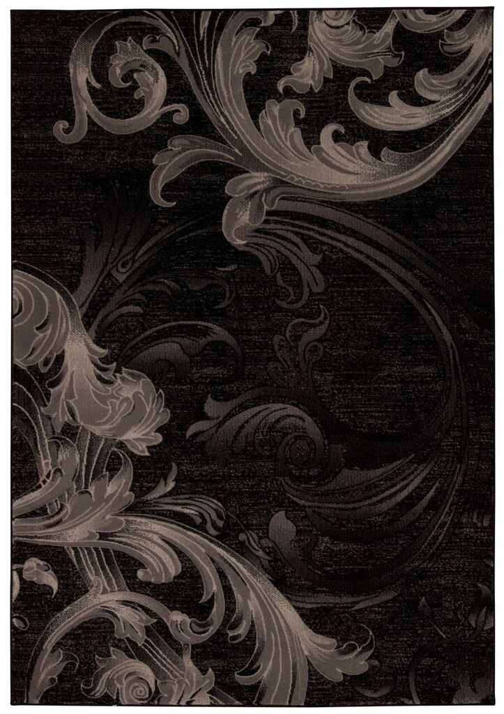Nourison Soho Black Grey Area Rug