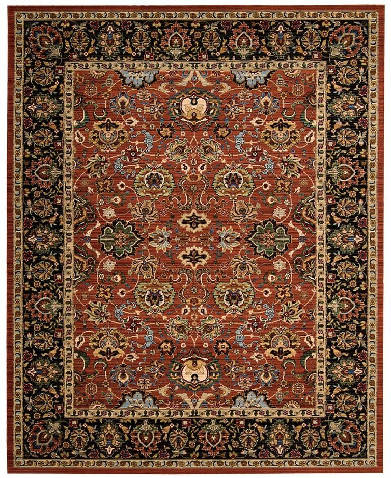 Nourison Timeless Persimmon Area Rug