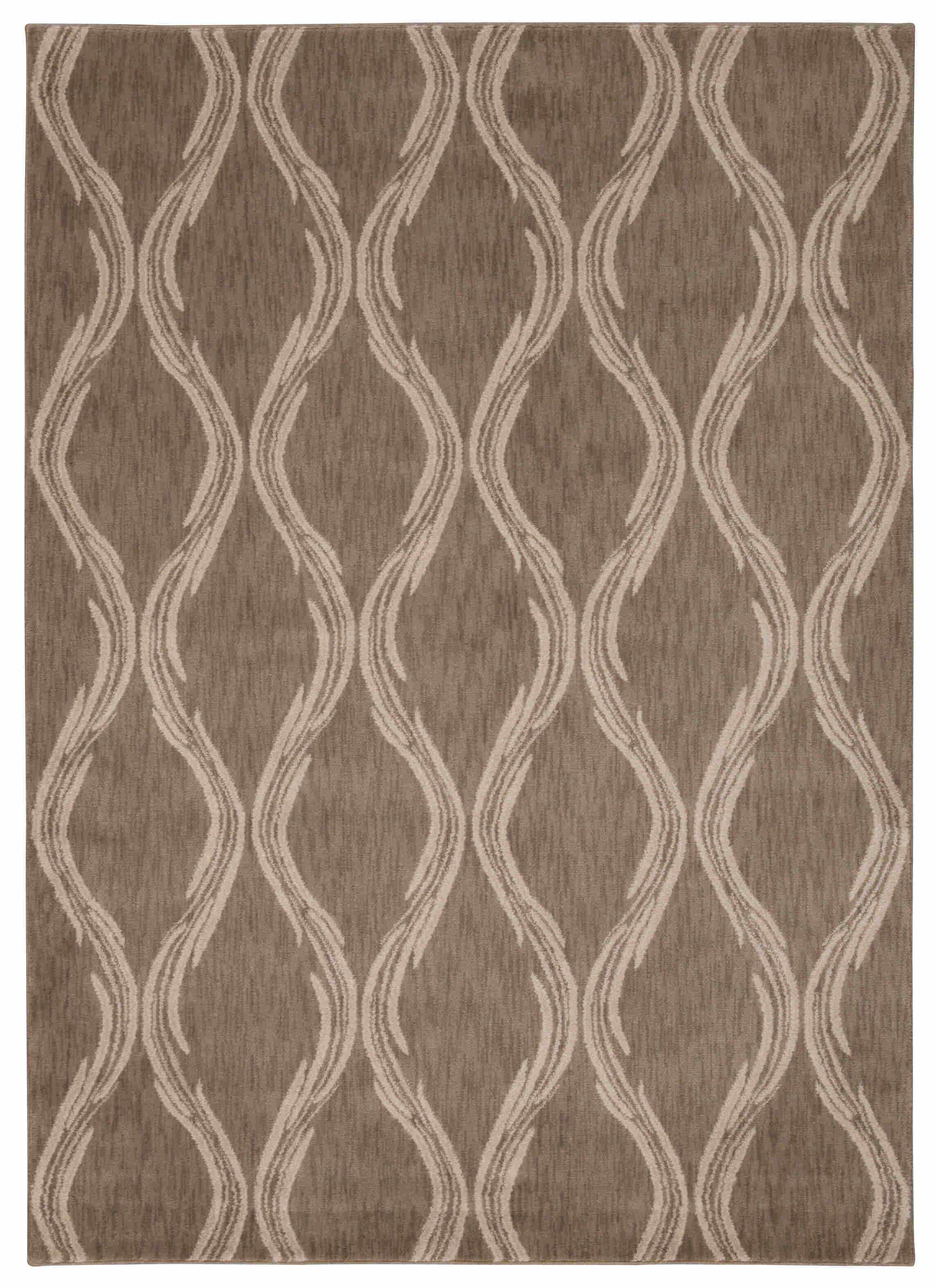Nourison Tranquility Taupe Area Rug