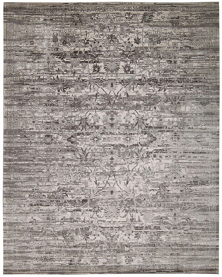 Transitional  Gloaming Silver 12' X 15' Rug