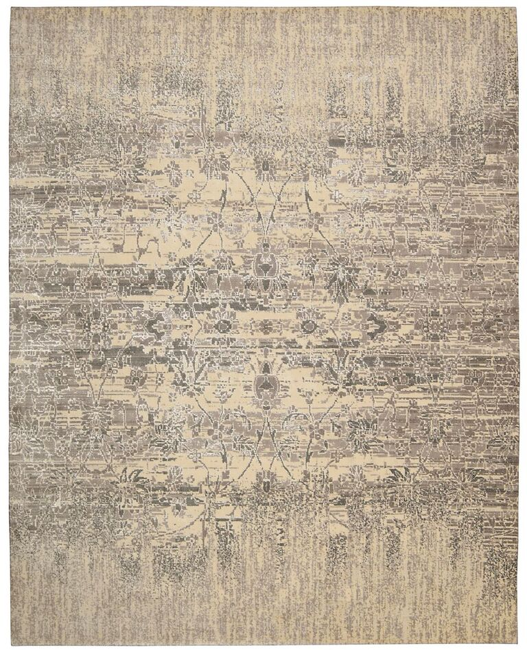 Transitional  Gloaming Ivory 12' X 15' Rug