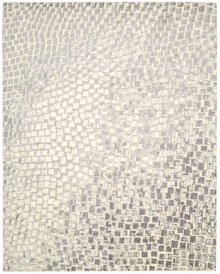Contemporary  Gloaming Cream 5'6 X 8' Rug