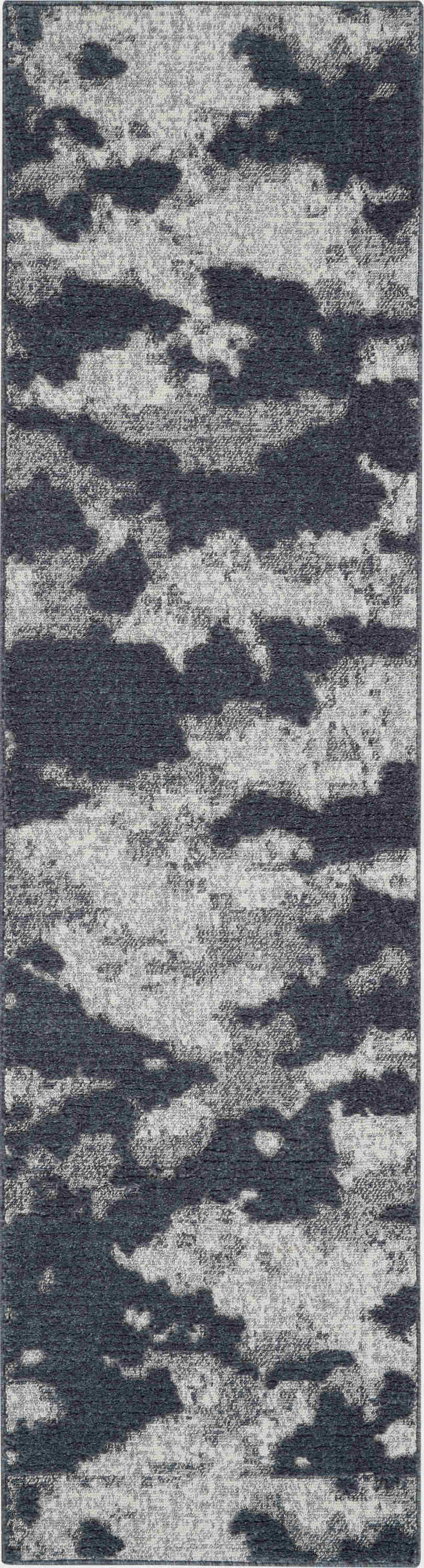 Nourison Textured Contemporary Blue Rug Tec01