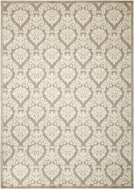 Nourison Ultima Silver/ivory Area Rug