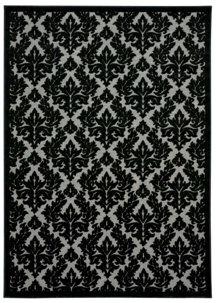 Nourison Ultima Grey Black Area Rug