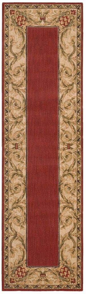 Nourison Vallencierre Brick Area Rug