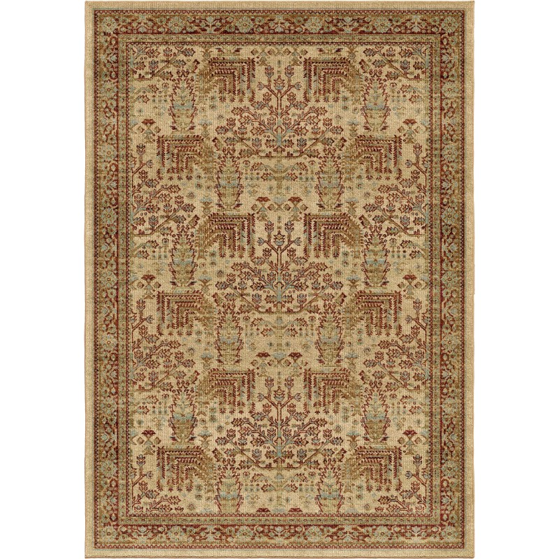 Orian Aria Transitional Persian Forest Bisque