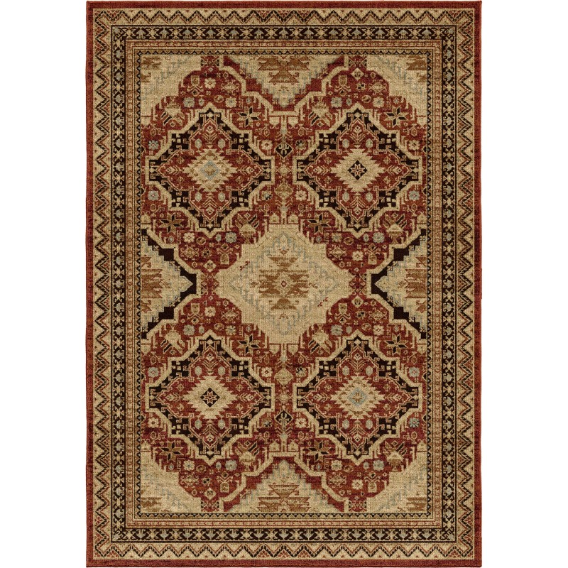 Orian Aria Transitional Izmir Rouge