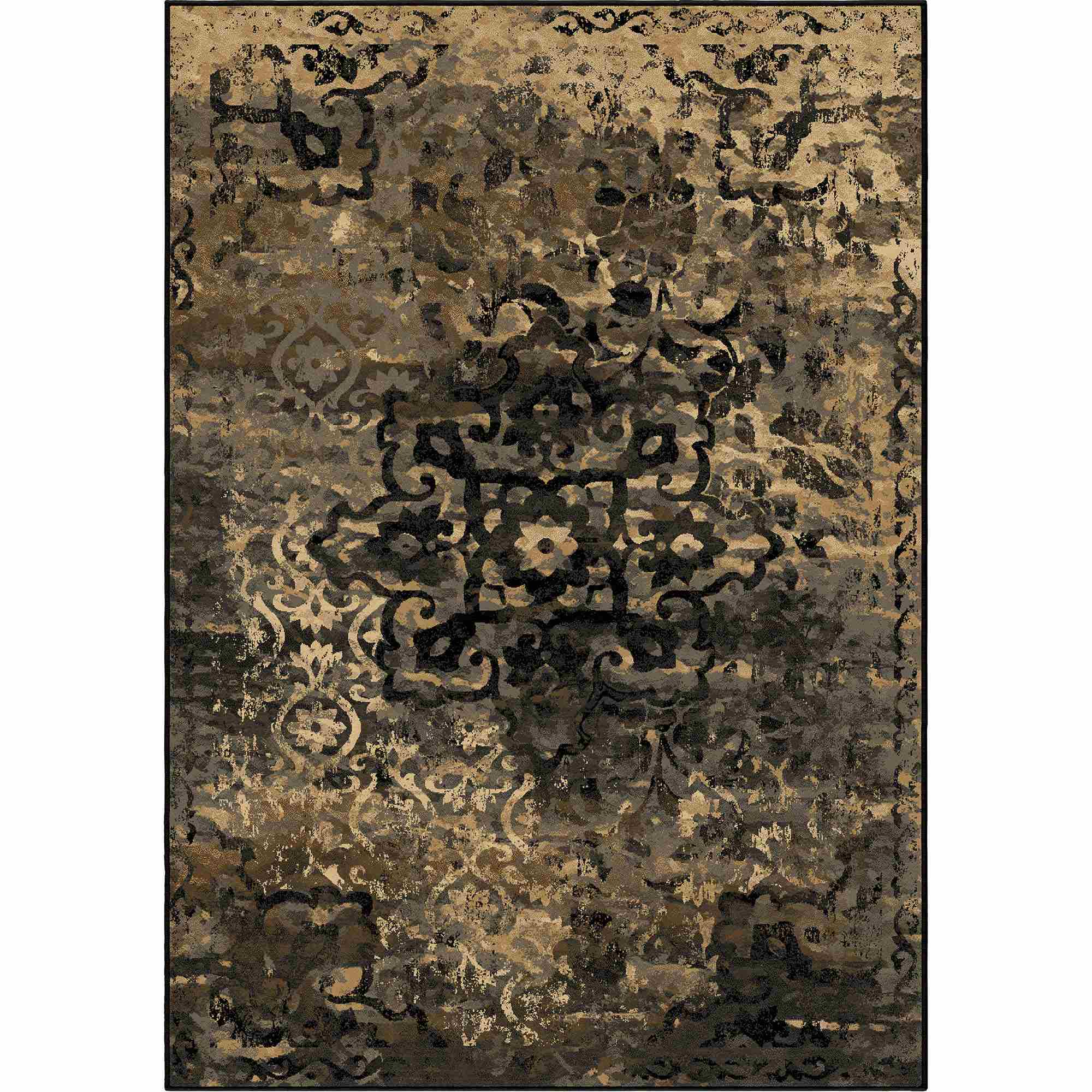 Damask Flatweave Rug: Orian Rugs Indoor Damask Blended Kirman Multi Area Rug