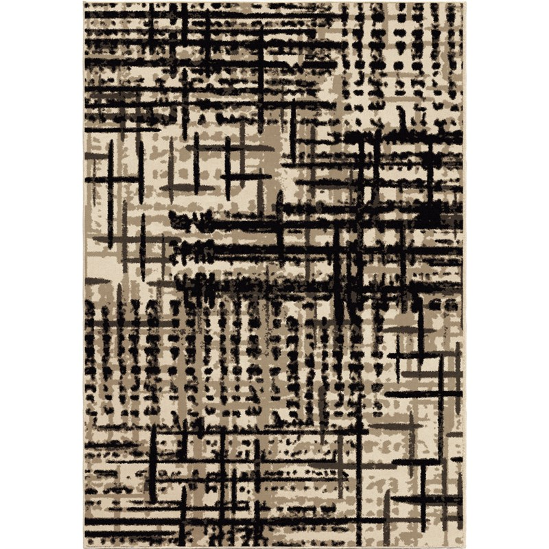 Orian Rugs Soft Abstract Prague Multi Area Rug 5'3 X 7'6