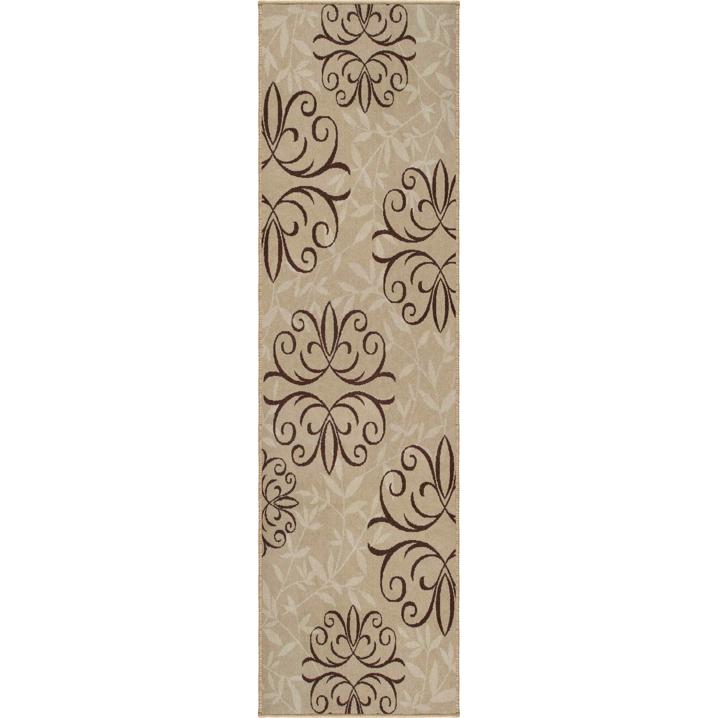 Orian Rugs Indoor/outdoor Medallion Josselin Whisper Runner
