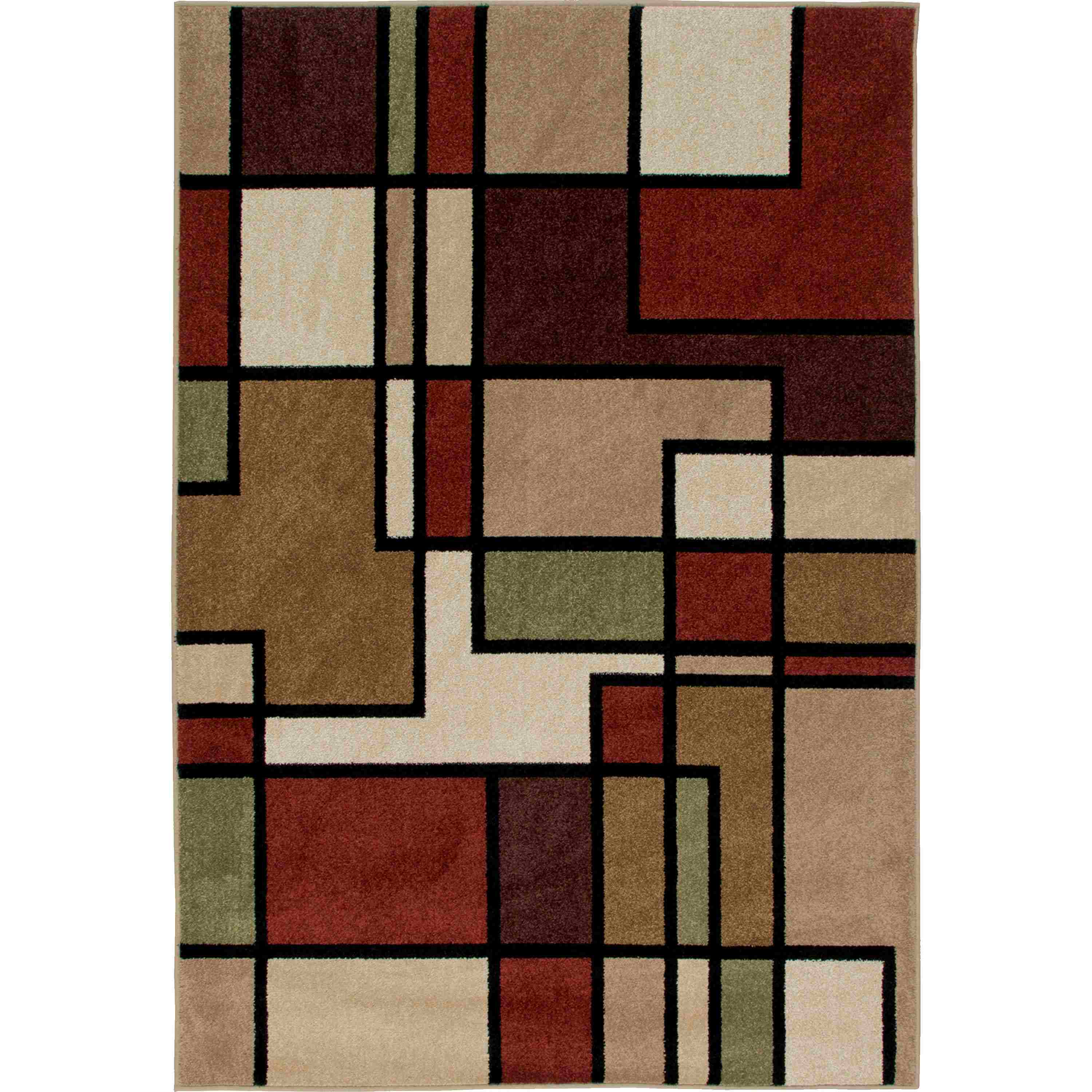 Orian Rugs Indoor/outdoor Blocks Thorburn Rawhide Area Rug