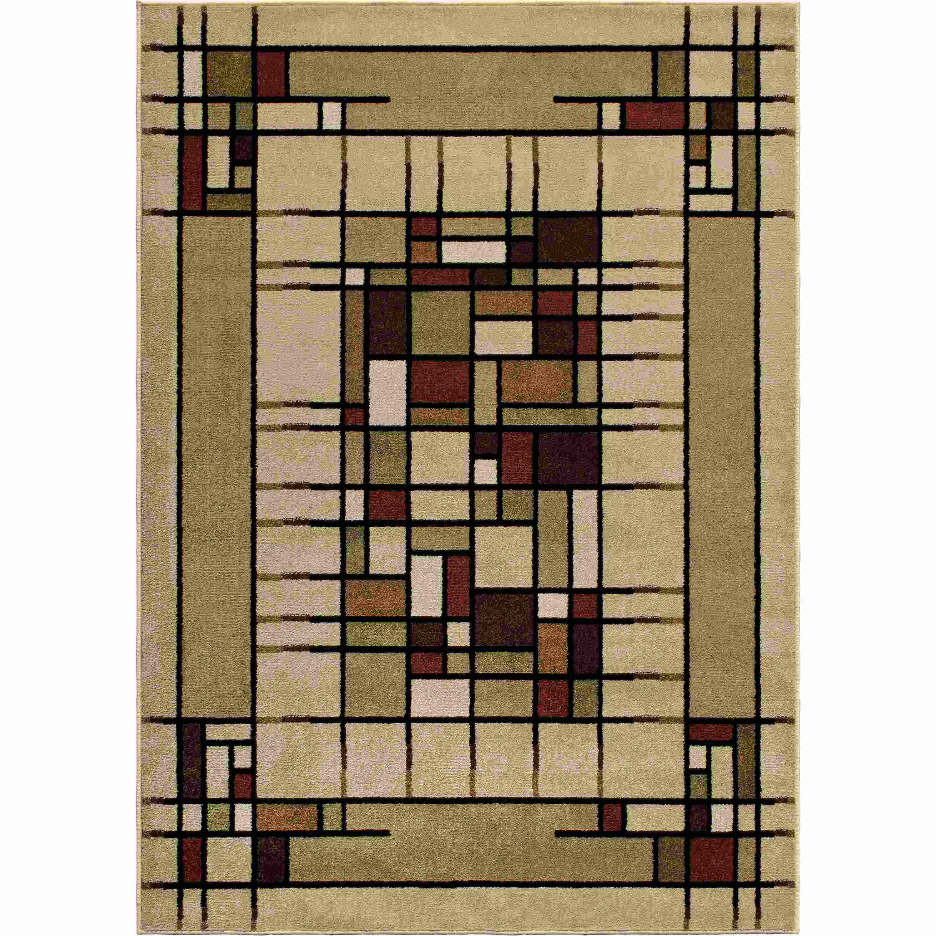Orian Rugs Indoor/outdoor Blocks Eldridge Multi Area Rug