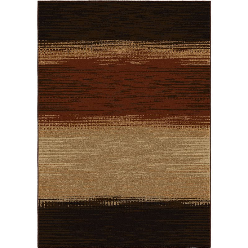 Orian Rugs Indoor/outdoor Stripes Allendale Multi Area Rug 5'2 X 7'6