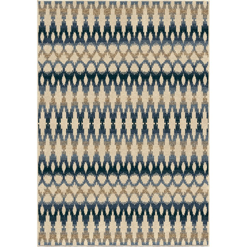 Orian Rugs Indoor/outdoor Southwest Links Ikat Ombre Multi Area Rug 5'2 X 7'6