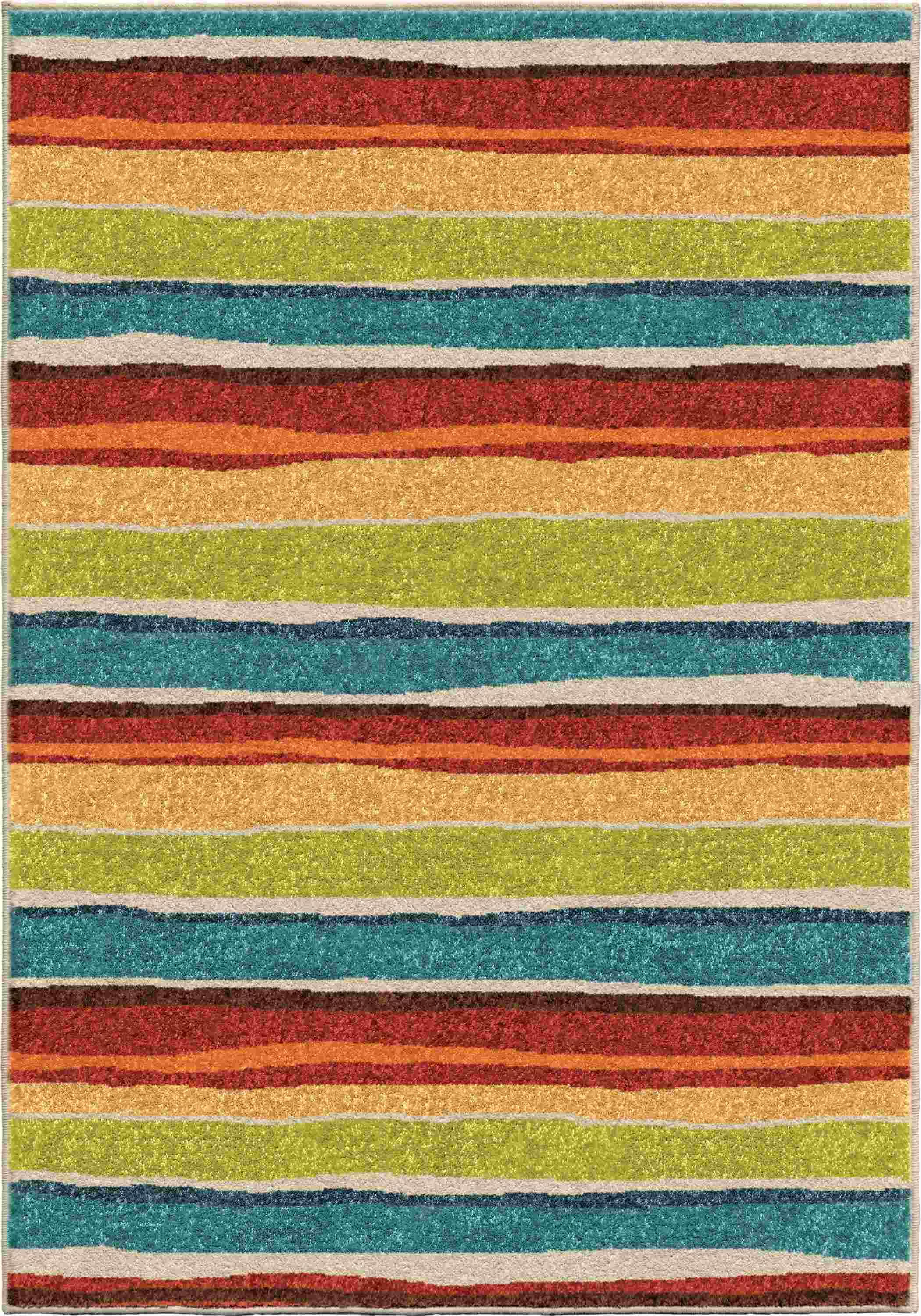 Orian Rugs Kids  Summertime Multi Area Rug