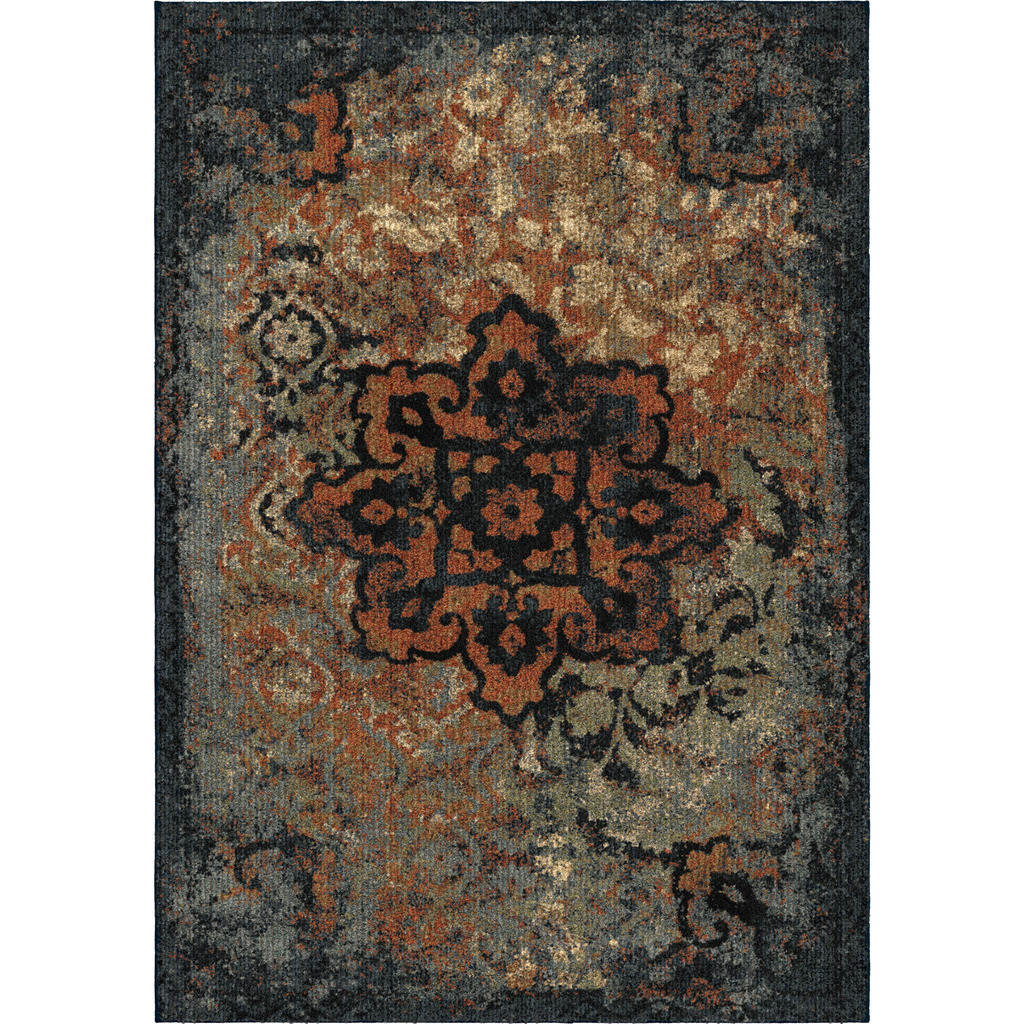 Orian Distressed Kirman Next Generation Modern Rugs