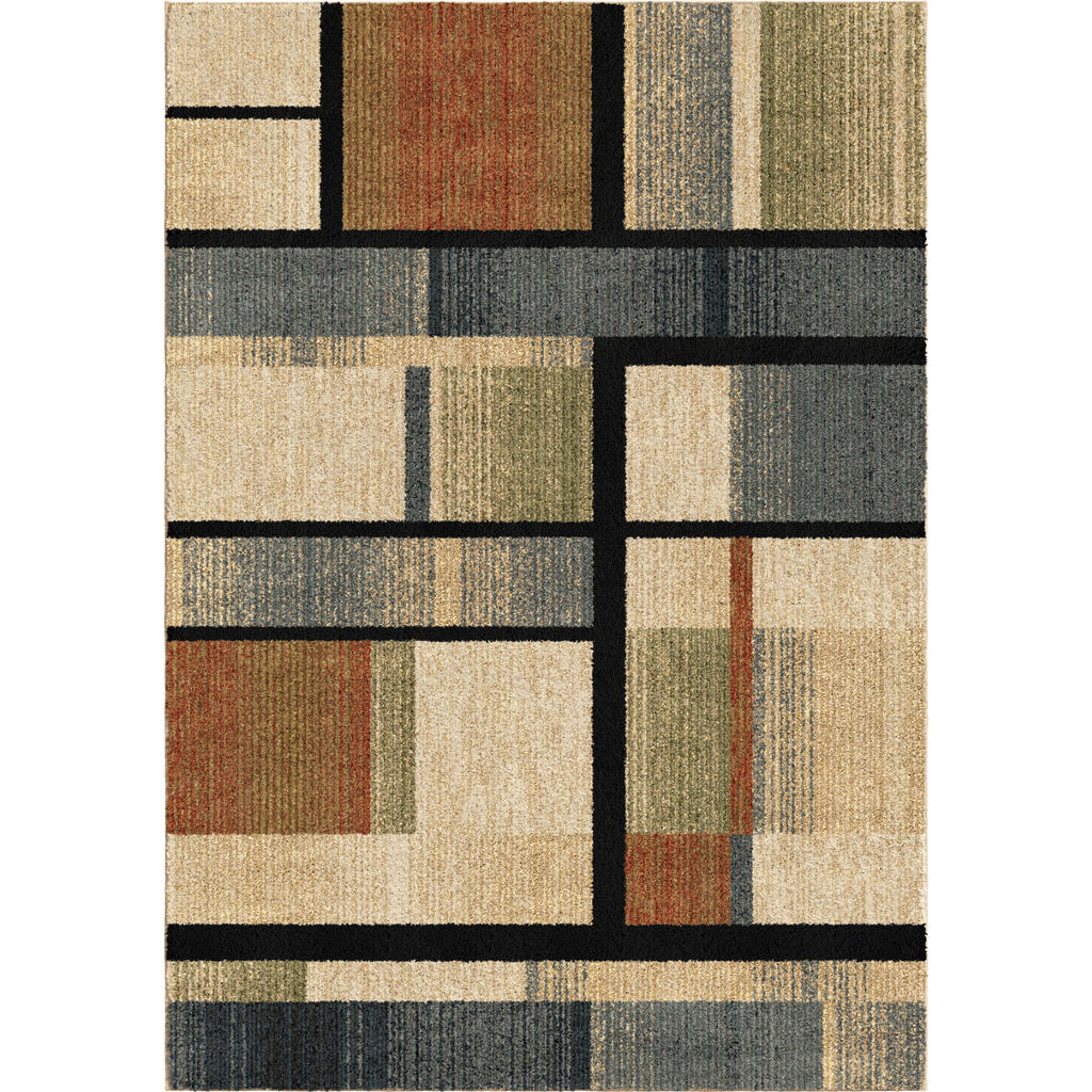 Orian Mid-century Blocks Next Generation Contemporary Rugs