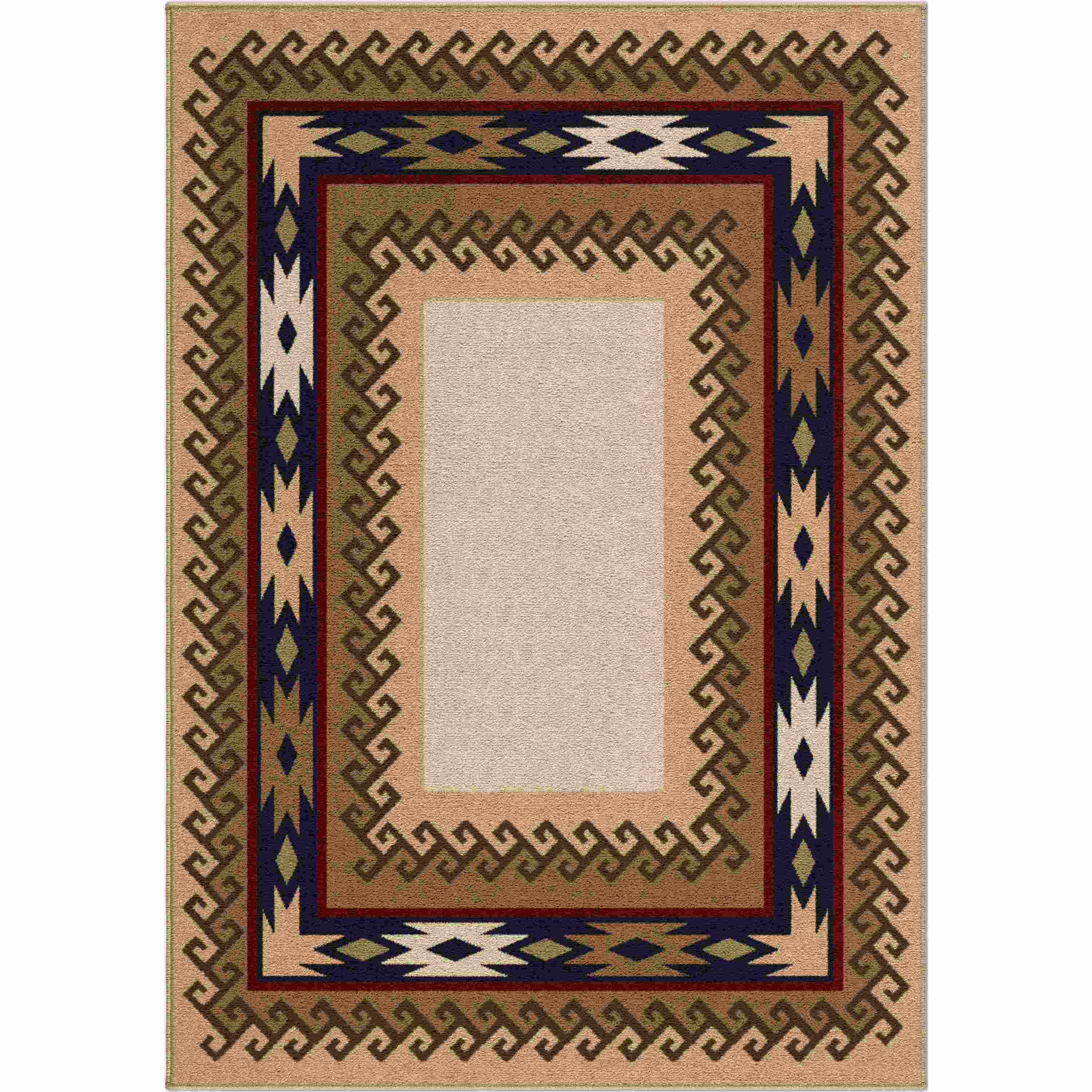 Orian Rugs Indoor Lodge High Country Praline Area Rug