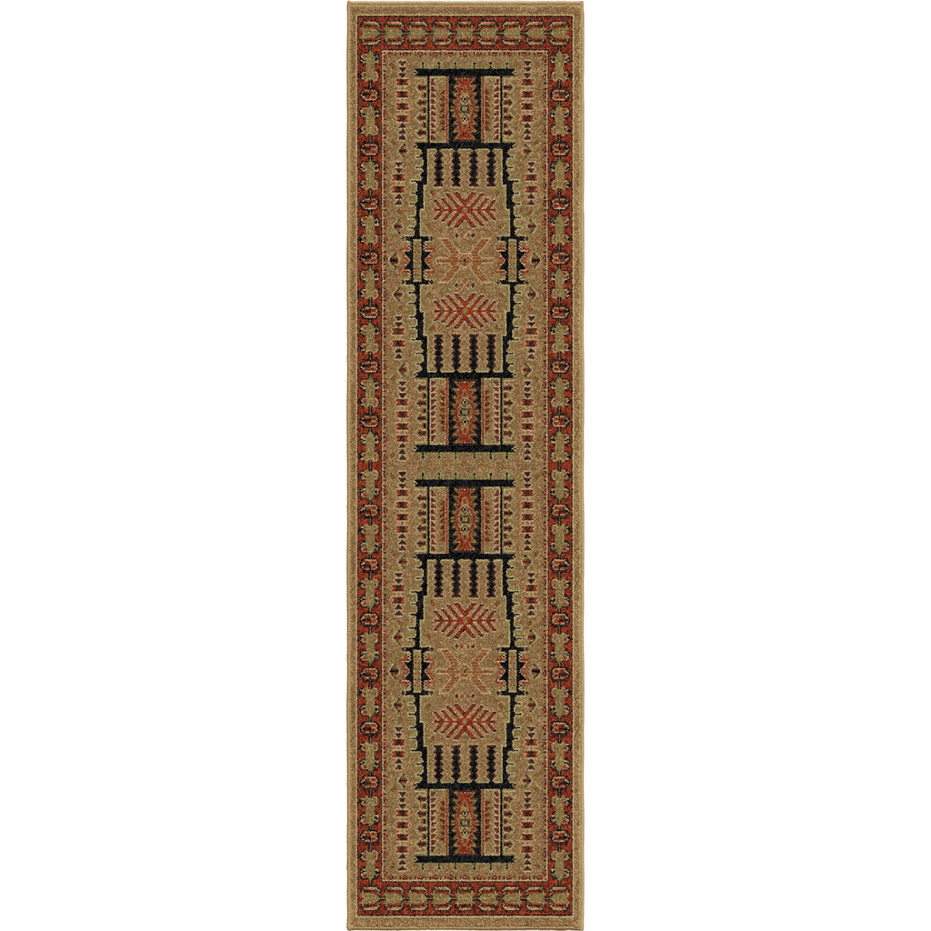 Orian North Fork Oxford Lodge/southwest Rugs