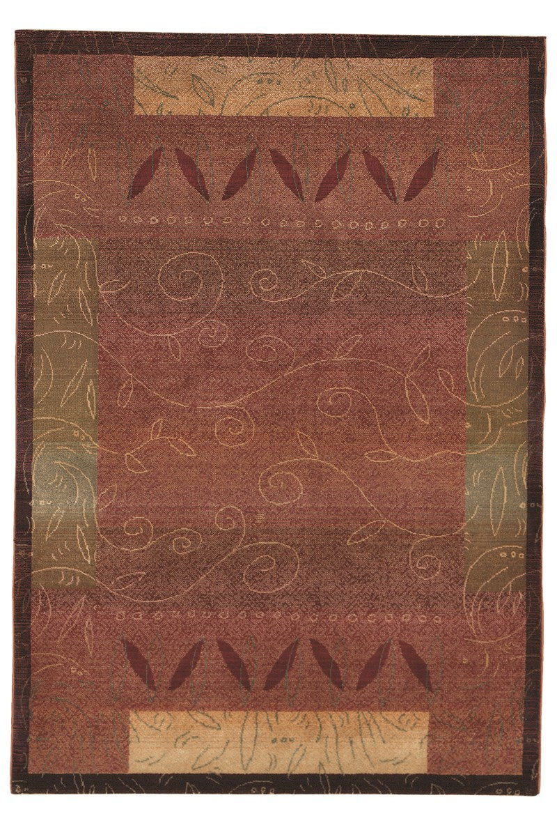 Oriental Weavers Kharma 439r4 Red Rug