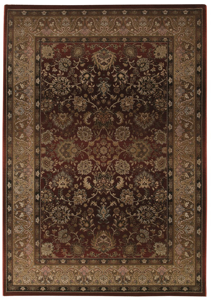 Oriental Weavers Generations 3434r Red Rug