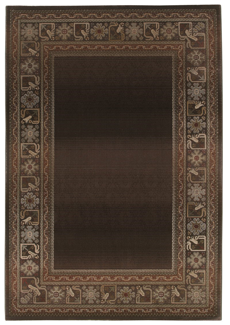 Oriental Weavers Generations 3436b Brown Rug