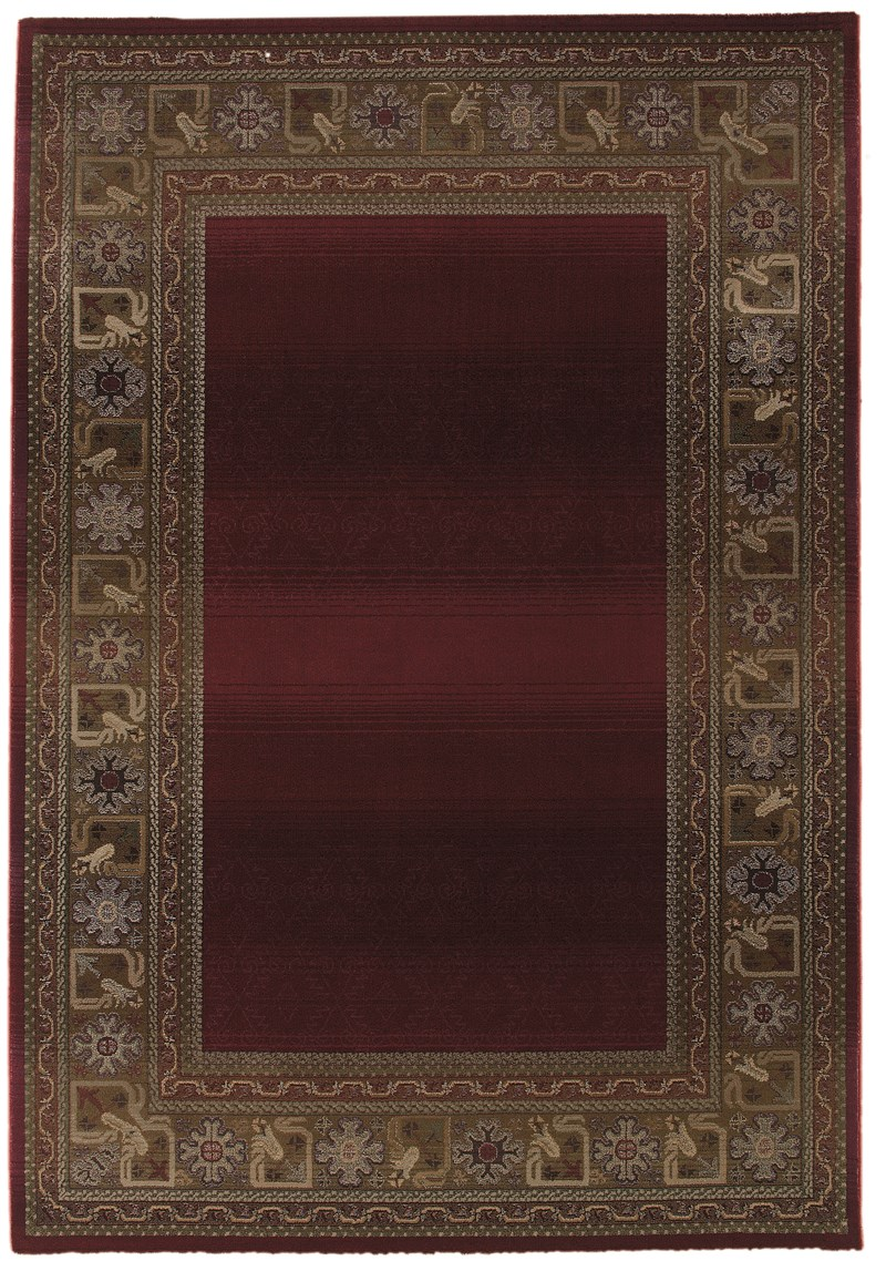 Oriental Weavers Generations 3436r Red Rug