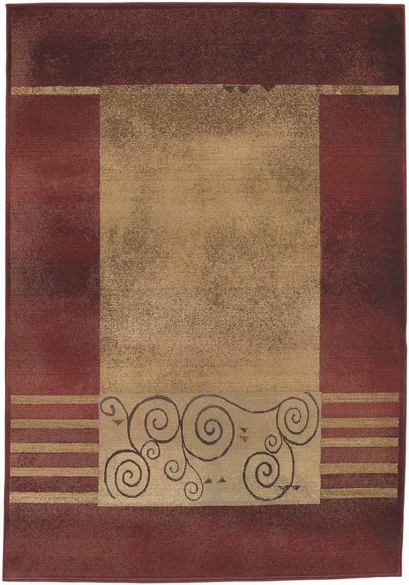 Oriental Weavers Generations 213r1 Red Rug