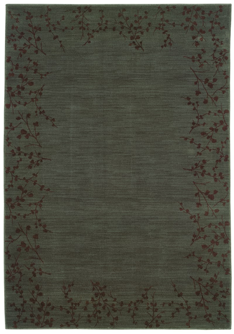 Contemporary  Glamor Blue 5'3 X 7'6 Rug